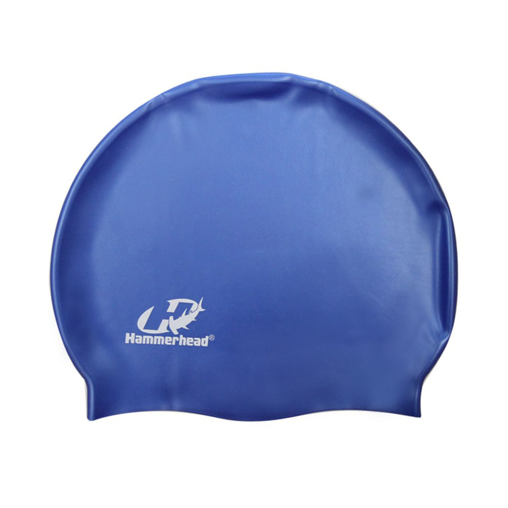 Touca de silicone lisa Hammerhead   Azul royal - LD Sports e9c537988f