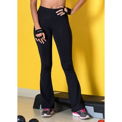 Legging-flare-Just-Fit-Feminino-Preto-GG