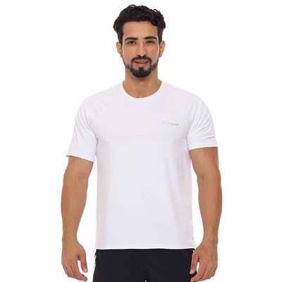Camiseta-masculina-basic-Just-Fit-Masculino-Branco-G
